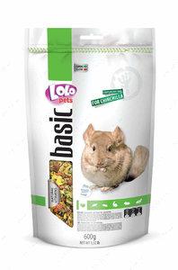 Полнорационный корм для шиншилл LoLo Pets basic for Chinchilla