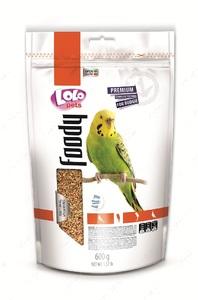 Полнорационный корм для волнистых попугаев LoLo Pets basic for BUDGIE