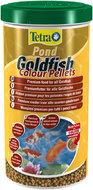 Pond Goldfish Colour Pellets корм в виде плавающих шариков для прудовых золотых рыбок, 1 литр