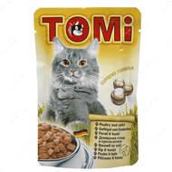 Консервы для кошек с мясом птицы и кролика TOMi poultry rabbit