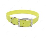 Ошейник для собак желтый Fashion Waterproof Dog