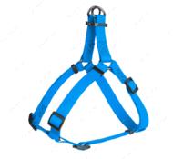 Шлея для собак водостойкая голубая Waterproof WAUDOG