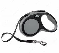 Поводок - рулетка лента 5 м до 15 кг COMFORT Tape Leash S