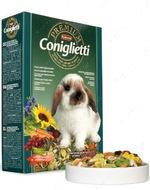 Корм для декоративных кроликов и молодняка Premium Coniglietti