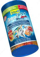 Pro Menu -универсальный корм в виде чиспов для аквариумных рыбок, 250 мл