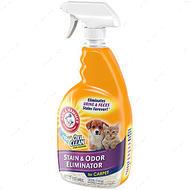 Pet Stain & Odor Eliminator Plus OXICLEAN - спрей уничтожитель запахов и пятен против повторных меток