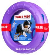 Пуллер миди тренировочный снаряд для собак (2 кольца)  Puller midi