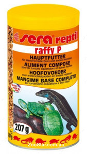 """Раффи Р """"Raffy P"""" - Основной корм для водяных черепах и ящериц"""