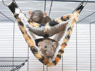 РЕЛАКС ДЕЛЮКС ТУНЕЛЬ МЕХ (RelaxDeLuxeTube) гамак для хорьков и крыс
