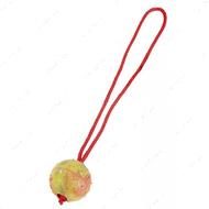 Резиновый мяч с ручкой для собак - 7,5 см