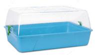 РОДИ ХАМСТЕР (Rody Hamster Basic) клетка для хомяков, крыс, поддон ярко-голубой   55Х39Х26 см.