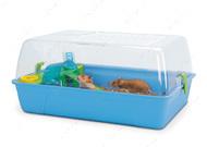 РОДИ (Rody Hamster) клетка для хомяков, крыс, поддон голубой | 55Х39Х26 см.