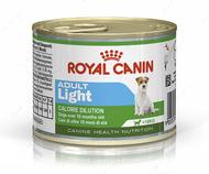 Консервированный корм для взрослых собак предрасположенных к полноте Adult Light