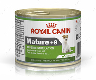 Консервированный корм для пожилых собак Mature +8