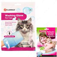Рукавица-салфетка для мытья без воды для котов Washing Glove Cat
