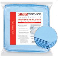 Салфетка из микрофибры «Для стекол», 35 х 35 см, 5 штук