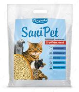 Наполнитель для котов НАТУРАЛ Sani Pet