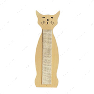"""SCRATCHING SISAL CAT SHAPE"" настенная когтеточка для кошек"