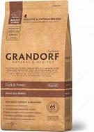 Сухой корм для собак всех пород с уткой и картофелем Grandorf Sensitive Care Holistic Duck & Potato All Breeds Grain Free