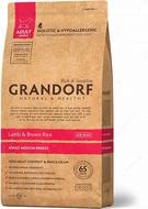 Сухой корм для собак средних пород с ягненком и рисом Grandorf Sensitive Care Holistic Lamb &Brown Rice Adult Medium Breed