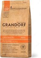 Сухой корм для щенков и юниоров с ягненок и рисом Grandorf Sensitive Care Holistic Lamb & Brown Rice Junior