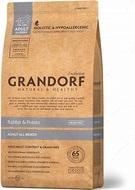 Сухой корм для собак всех пород с кроликом и картофелем Grandorf Sensitive Care Holistic Rabbit & Potato All Breeds Grain Free