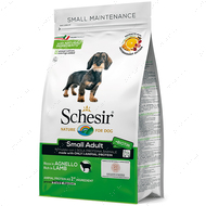 Сухой корм монопротеиновый для собак малых пород с ягненком Schesir Dog Small Adult Lamb