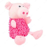 """""""SHAGGY PIG"""" лохматый свин мягкая игрушка для собак"""