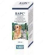 Шампунь антипаразитарный с эфирными маслами и экстрактами лекарственных трав для собак и кошек Барс