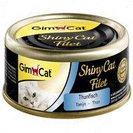 Консервы для кошек с тунцом ShinyCat Filet