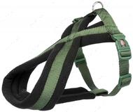 Шлея для собак нейлоновая оливковая Premium Touring Harness forest