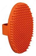 Резиновая овальная массажная щетка для всех животных Massage Brush