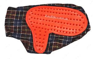 Щетка-рукавица с мелкими мягкими шипами