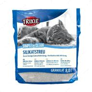 Силикагелевый наполнитель для кошачьего туалета Trixie Simple & Clean Silicate Litter