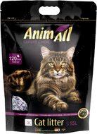 Силикагелевый наполнитель для котов аметист AnimAll Premium