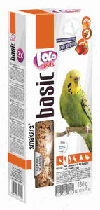 Smakers® (3в1) фрукты/мед/яйцо для волнистых попугаев 120 г