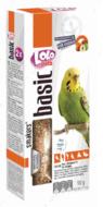 Лакомства для волнистых попугаев с орехами LoLo Pets Smakers BUDGIE