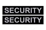 Сменная надпись SECURITY для шлеи и ошейника DogExtremе