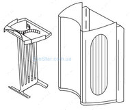 Сменный стакан для фильтровальных губок  для фильтра Tetratec IN