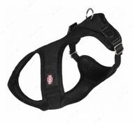 Нейлоновая шлея-майка для собак, черная Comfort Soft Touring Harness
