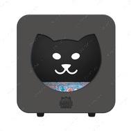 Спальный кубик-домик для котов темно-серый KASA BEDROOM КІТТІ