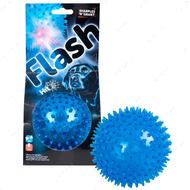 Мяч с шипами и диодной подсветкой игрушка для собак SPIKE BALL+LED