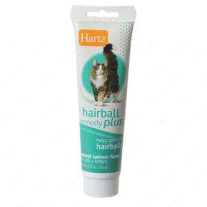 Паста для вывода шерсти у котят и кошек Hartz Hairball Remedy for Cats, Salmon Flavour