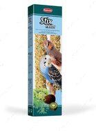 Лакомства для волнистых попугаев и маленьких экзотических птиц палочки из семян с фруктами Stix Herbs Cocorite Esotici