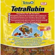 Сухой корм для аквариумных рыб в хлопьях для окраса RUBIN Tetra
