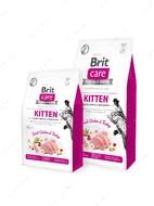 Беззерновой корм для котят, для здорового роста и развития Brit Care Cat GF Kitten HGrowth & DevelopmenBrit Care Cat GF Kitten HGrowth & Developmen