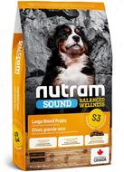Сухой корм для щенков крупных пород S3 Sound Balanced Wellness Puppy S3