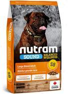 Сухой корм для собак крупных пород Sound Balanced Wellness Large Breed Adult Dog S8