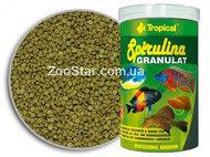 Super Spirulina Granulat - растительный корм в гранулах для рыб в аквариуме