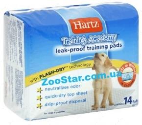Супервпитывающие пеленки для щенков, 14 штук Training Academy Training Pads